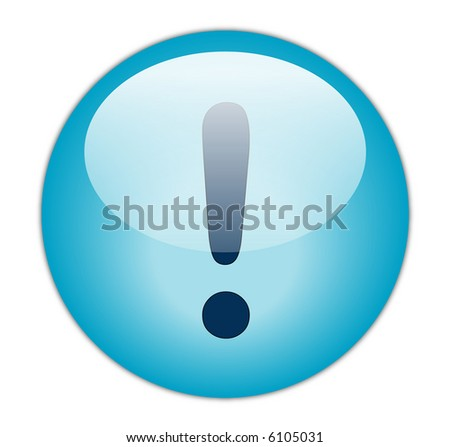 Exclamation - stock photo