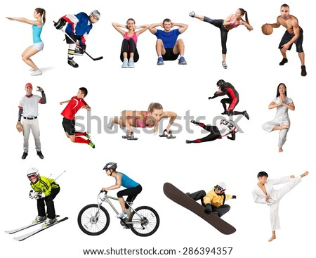Exercising, Sport, Women. - stock photo