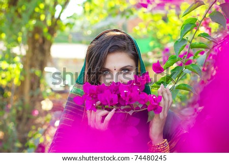 Exotic flowers - stock photo
