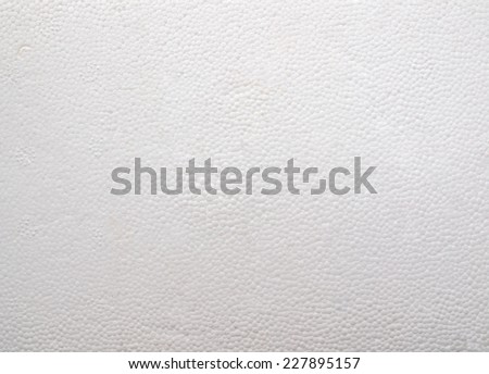 Expanded polystyrene sheet useful as a background - stock photo
