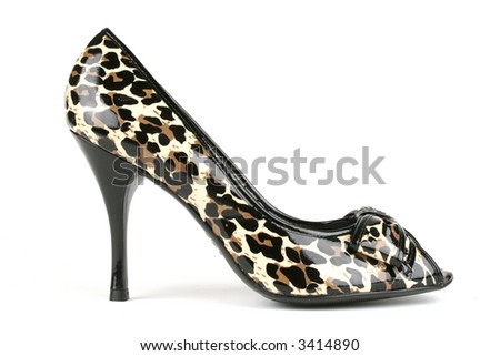 expensive, classy high heels - stock photo