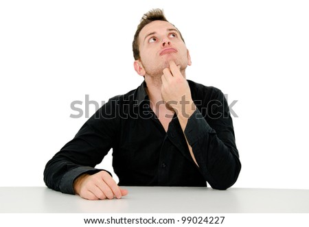 expression of ideas - stock photo