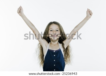 Expressive Kid - stock photo