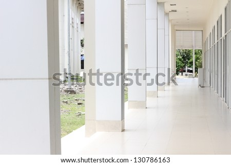 exterior of a building - stock photo