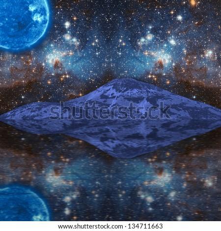 Extraterrestrial Fantasy - stock photo