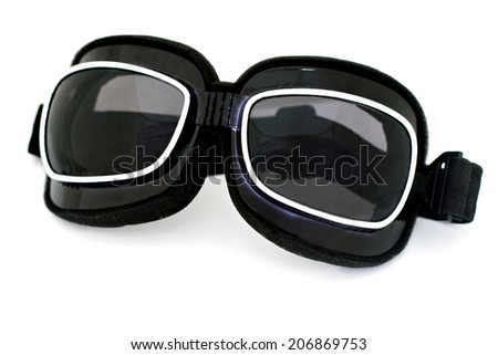 Eyeglasses isolated on white - stock photo