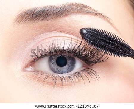 Eyelash Extension - stock photo