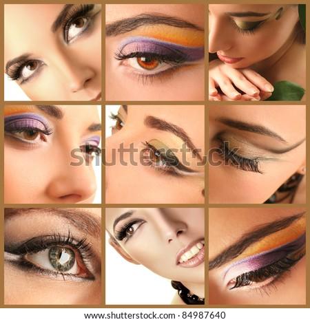 eyes - stock photo