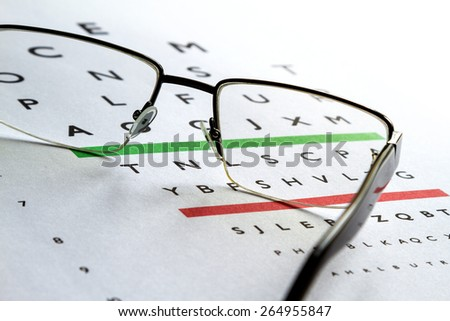 Eyes Examination, glasses diopter check up