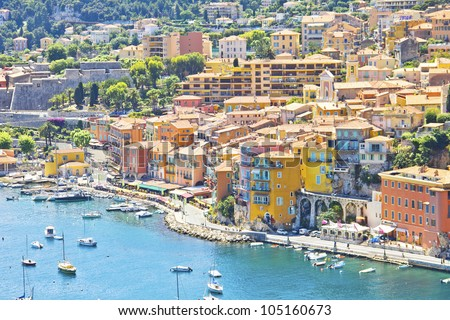 Eze, south of France - stock photo