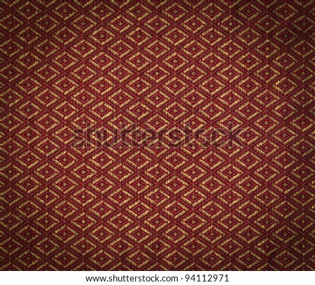 Fabric background with vignette - stock photo