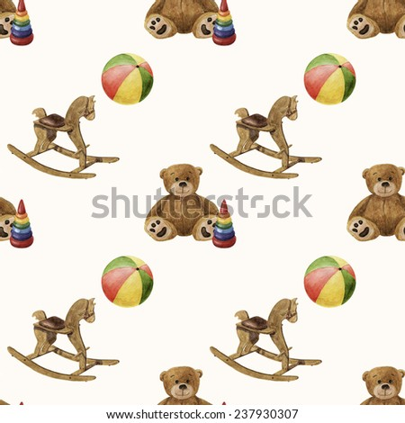 fabric colorful ornament for children products - stock photo