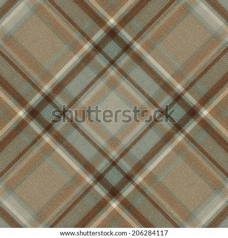 Fabric plaid texture - stock photo