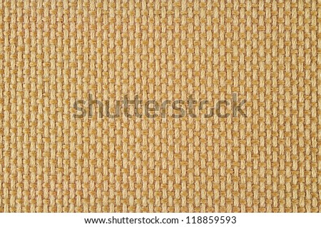 Fabric Sack texture brown color - stock photo