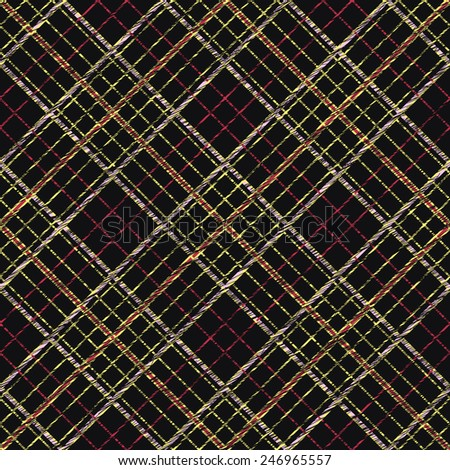 Fabric with scratch lines. Abstract Seamless Pattern. Surface texture. Seamless pattern for wallpaper, web page background, surface textures. Simple checkered template. - stock photo