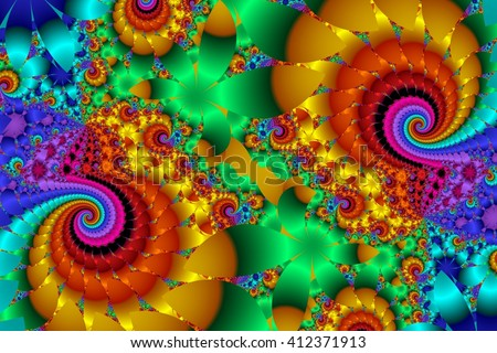 Fabulous multicolored background. You can use it for invitations, notebook covers, phone case, postcards, cards, wallpapers and so on. Artwork for creative design, art and entertainment. - stock photo