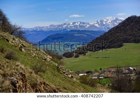 Fabulous nature, Armenia - stock photo