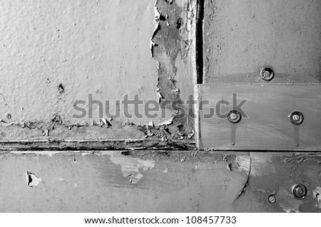 facade detail - stock photo