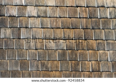 Facade of a house in the Black Forest - stock photo