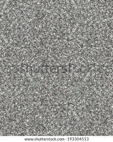Facade of a silver dust glittering surface for textural background.  - stock photo