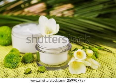 face cream  - stock photo