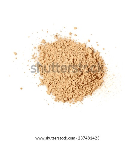 Face powder - stock photo