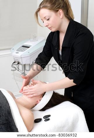 Facial Care - stock photo