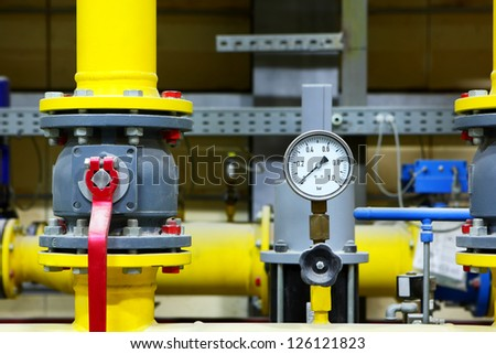 Factory equipment - stock photo