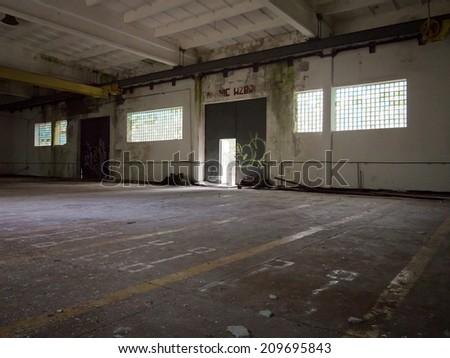 Factory interior - stock photo
