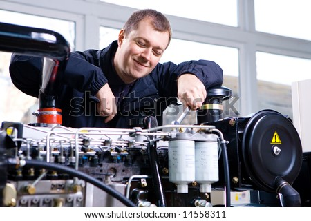 Factory worker 2 - stock photo