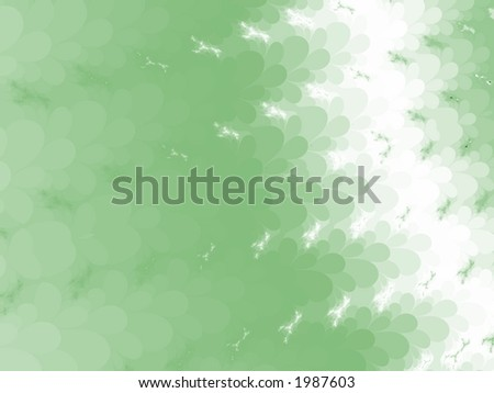 Faded Green to White - High Resolution Illustration.  Suitable for graphic or background use.  Click the designer's name under the image for various  colorized versions of this illustration. - stock photo