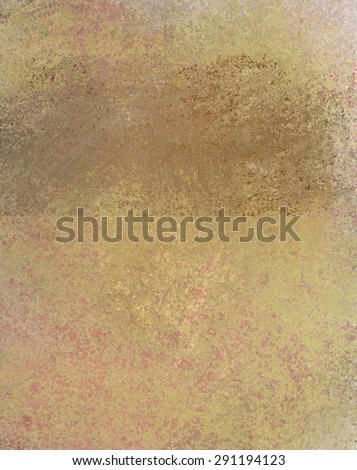faded messy brown grunge background texture, country western look - stock photo
