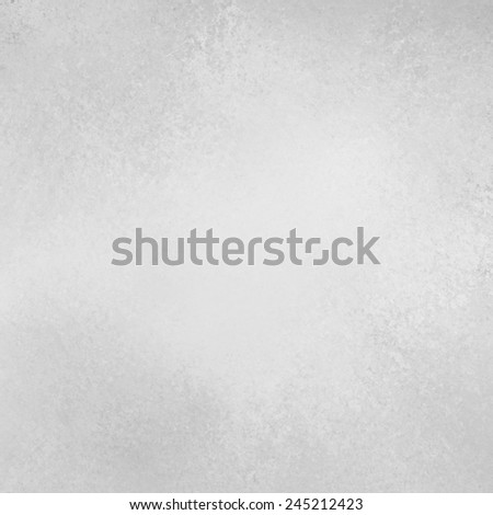 faded off white background texture, old gray white dirty paper, white background design - stock photo