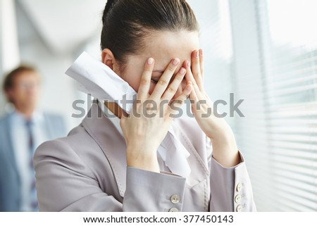 Failed in business - stock photo