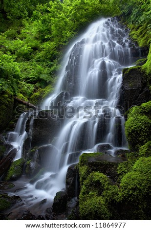 Fairy Falls - stock photo