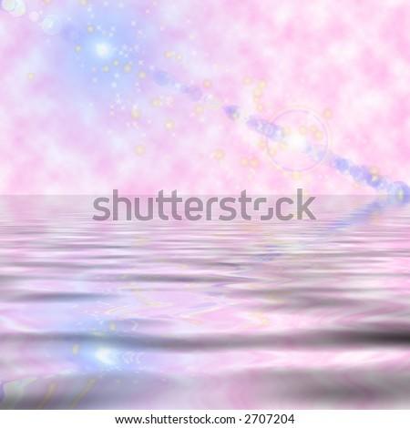 FairyTale Space - stock photo