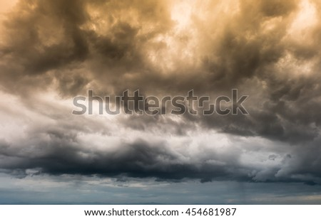 Faithful Sky background - stock photo