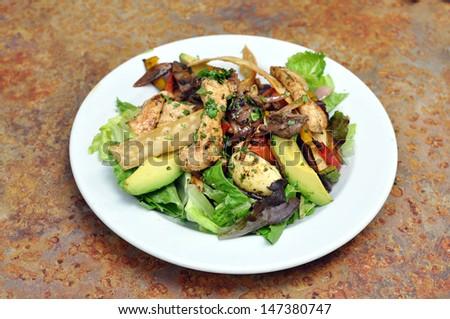 Fajita Salad - stock photo