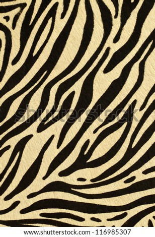 fake leopard skin that made from leather - stock photo