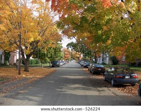 Fall Richmond - stock photo