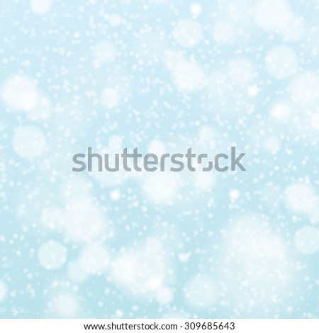 falling snow on the gray - image art grey - stock photo