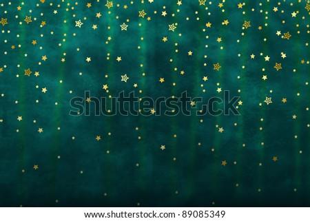 Falling Stars - stock photo