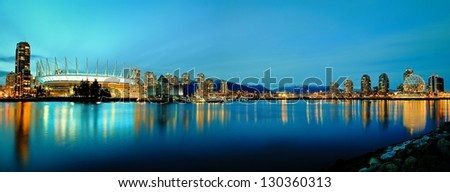 False Creek, Vancouver, B.C. - stock photo