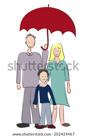 family - stock photo
