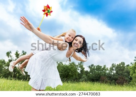Family, Child, Mother. - stock photo