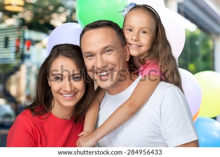 Family, Happiness, Cheerful. - stock photo