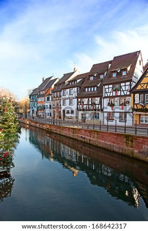 "Famous ""Little Venice"" in Colmar, France - stock photo"