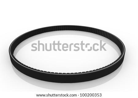 Fan belt - stock photo