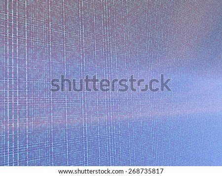 Fantastic background of lines on iridescent background. 3d render - stock photo