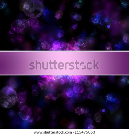 fantastic powerful bubbles background design illustration - stock photo